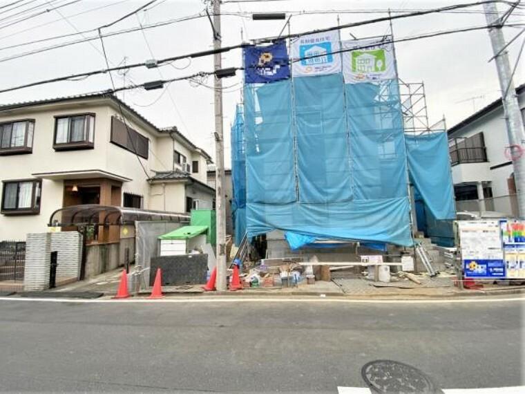 現況写真 地震に強い耐震構造です。