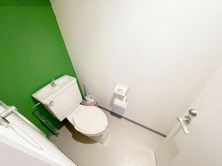 トイレ トイレの様子です。スッキリした空間を維持できそうです。