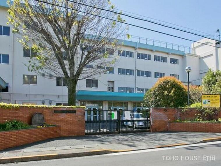 中学校 日野市立大坂上中学校 距離1400m