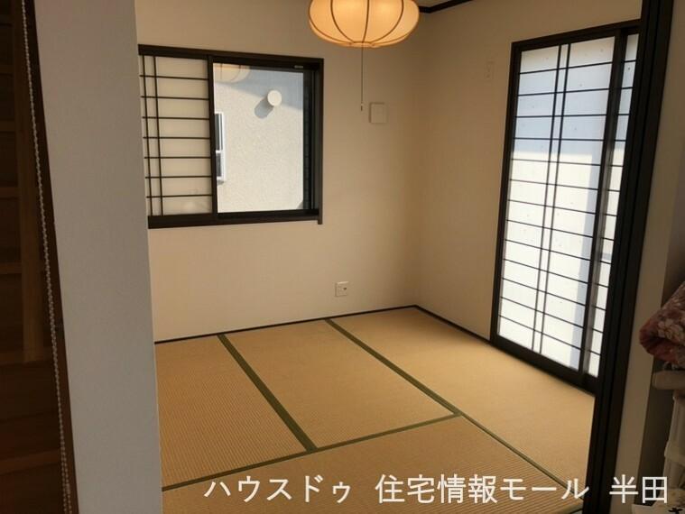 和室 4.5畳和室 急な来客時にも、柔軟に対応してくれる和室。応接間として、お客様用の寝室としてお使いただけます。