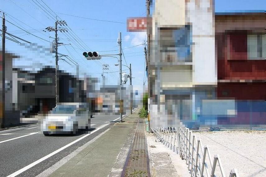 現況写真 前面道路→西