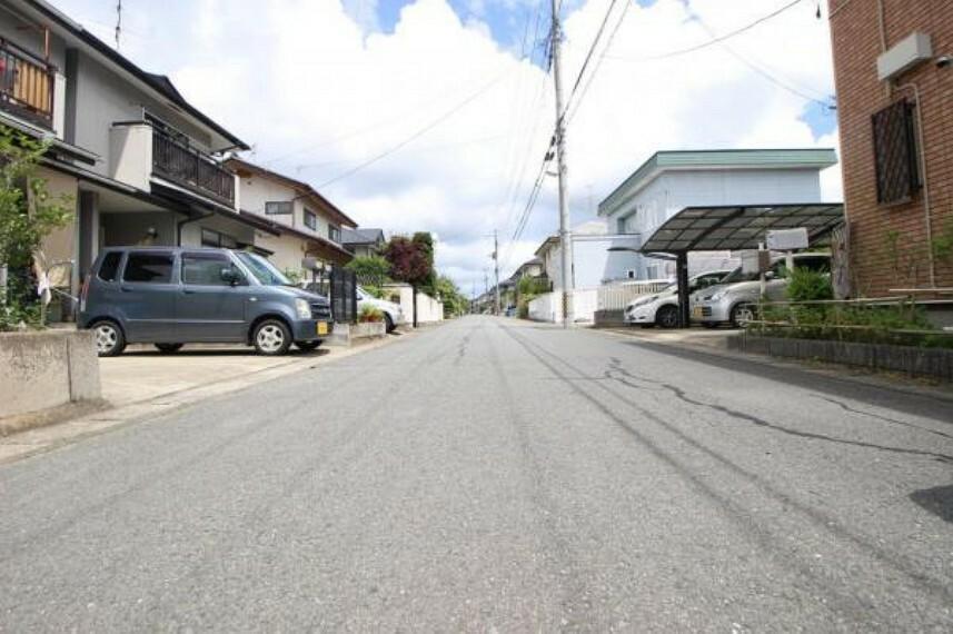現況写真 《前面道路》前面道路6m