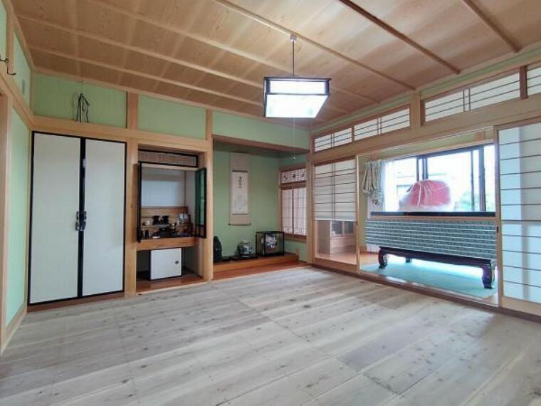 【リフォーム中】1階仏間です。畳の表替え、障子襖を張替えします。和室は落ち着きますね。