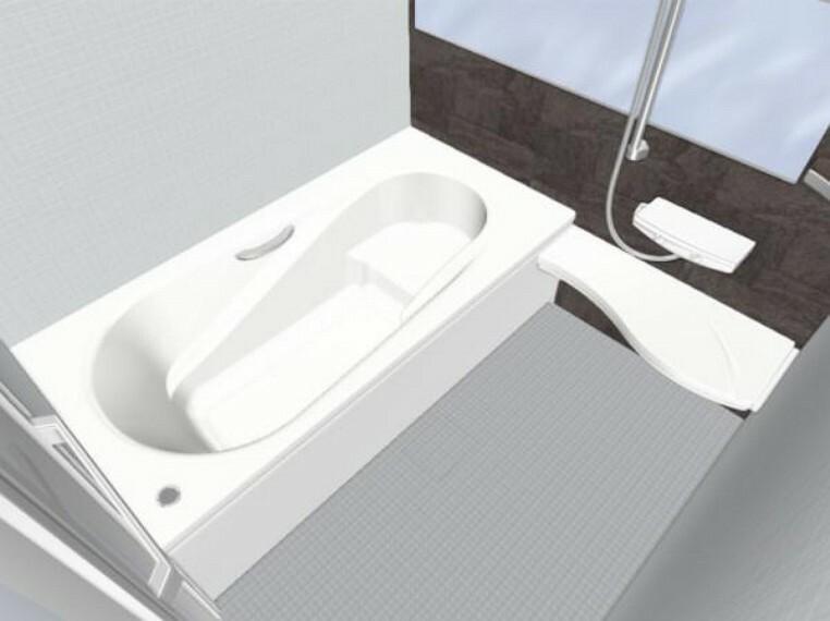 浴室 【同仕様写真】浴室はLIXIL製の新品のユニットバスに交換します。1坪サイズのお風呂で、1日の疲れをゆっくり癒すことができますよ。