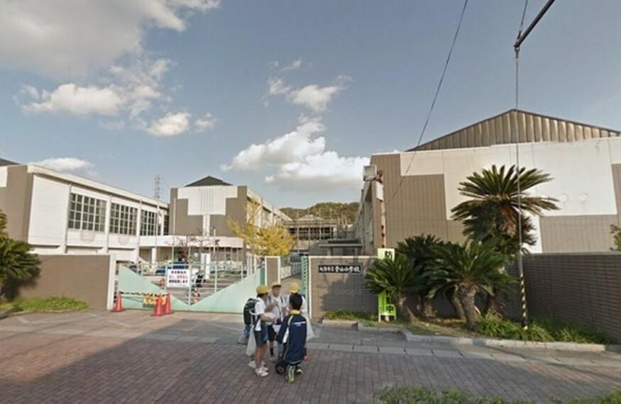 小学校 大津市立青山小学校 平成4年:上田小学校より分離開校