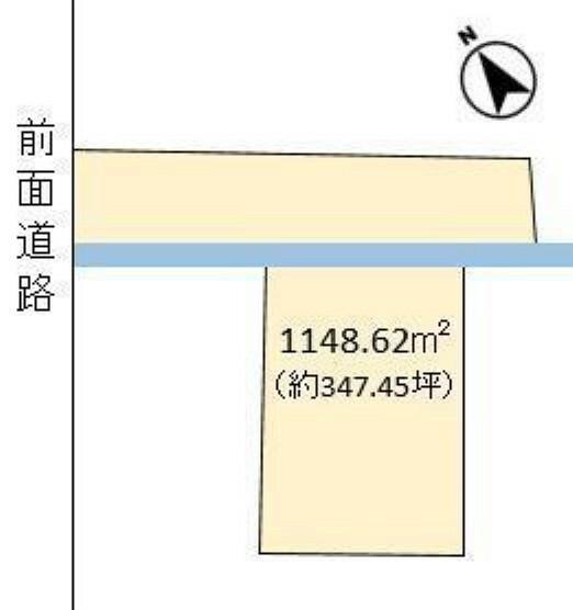 土地図面 アパート、マンション、事務所用地として