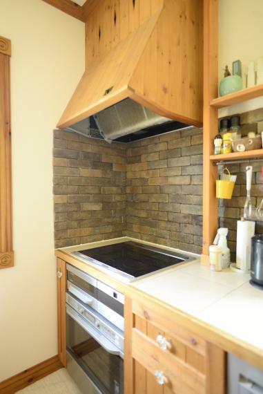 キッチン コンロはIHクッキングヒーター仕様です。