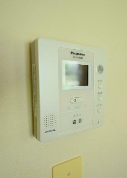 TVモニター付きインターフォン モニター付きインターホン