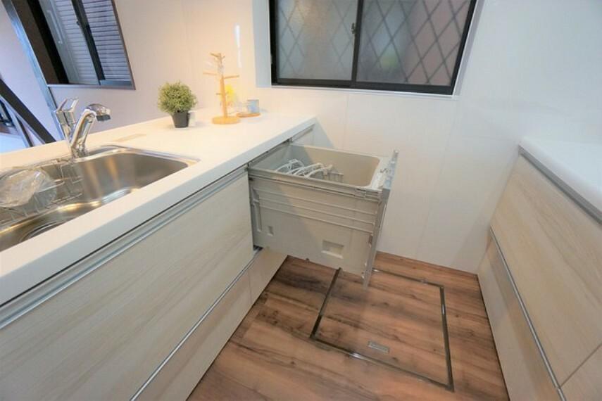 キッチン 食洗機のあるシンク