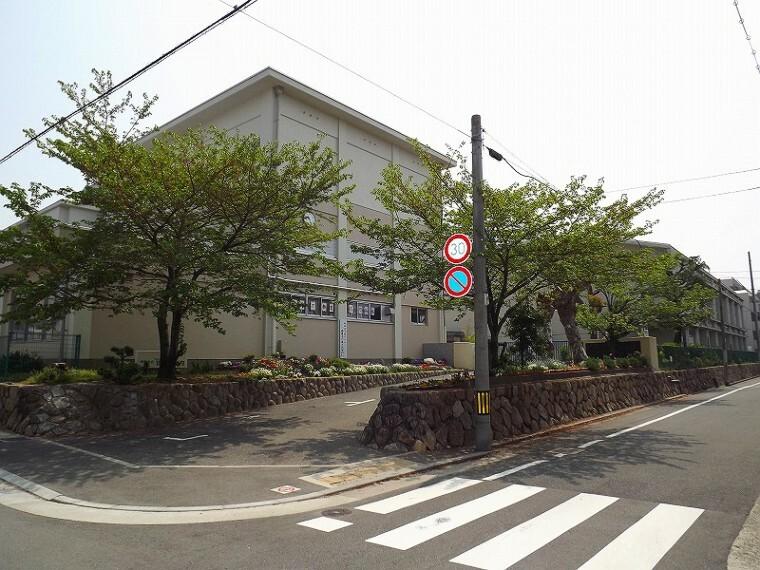 中学校 【中学校】芦屋市立精道中学校まで1257m