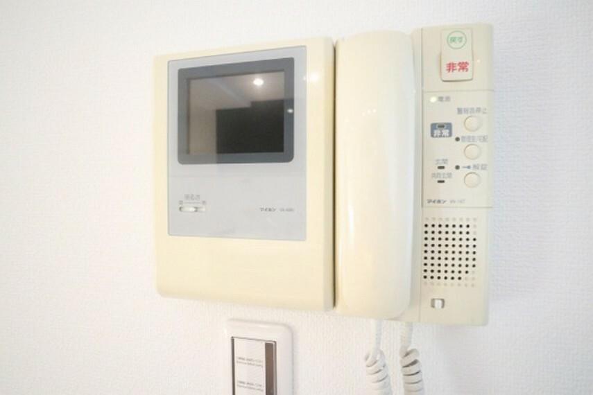 TVモニター付きインターフォン 誰が来てもわかる様にモニター付きインターホンを設置