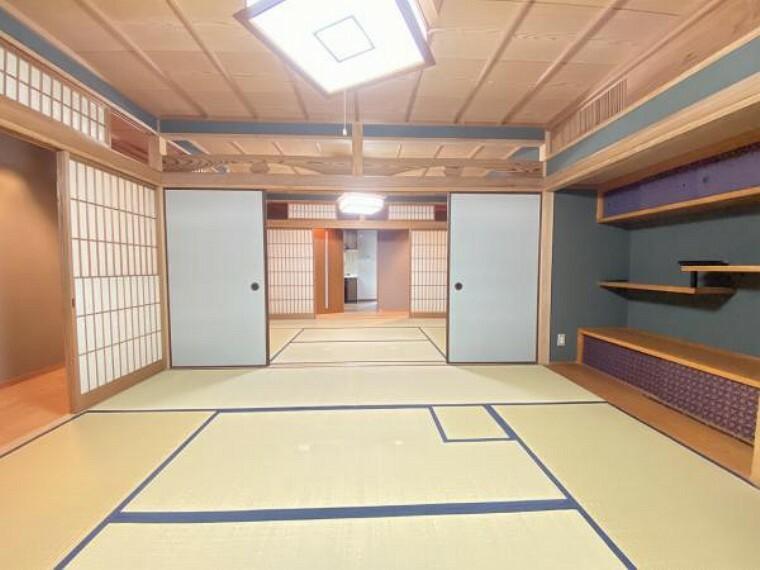 和室 しっとりと落ち着いた雰囲気の和室