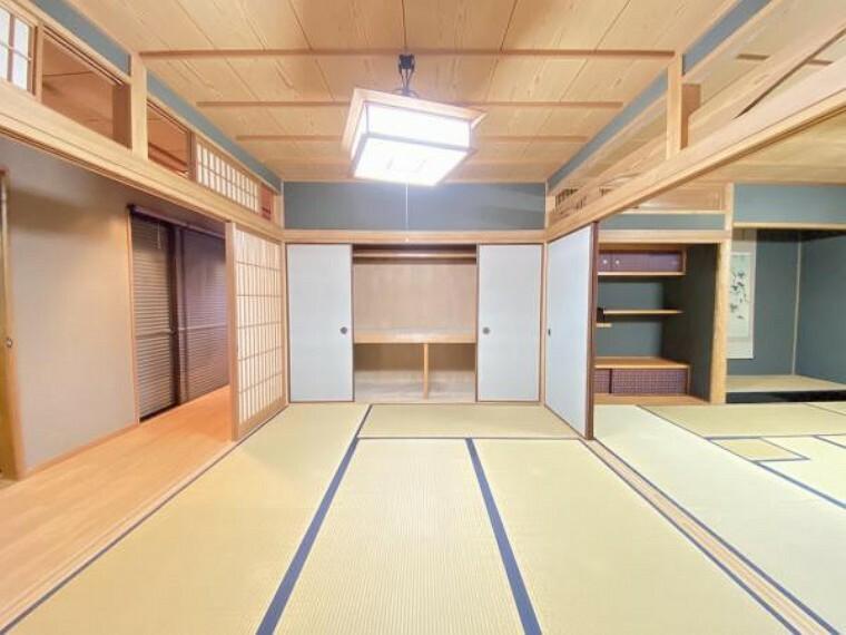 和室 2階にも広々8帖の和室がございます。