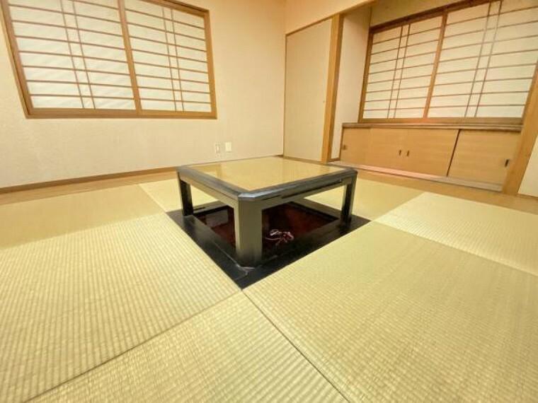 リビングダイニング 客間としてはもちろん、お子さまのお昼寝スペースとして嬉しい和室。