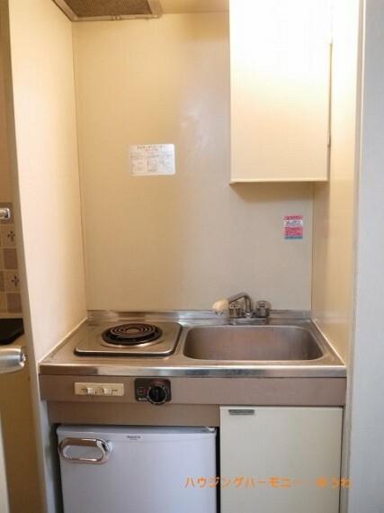 キッチン キッチンは、IHコンロに交換しています。