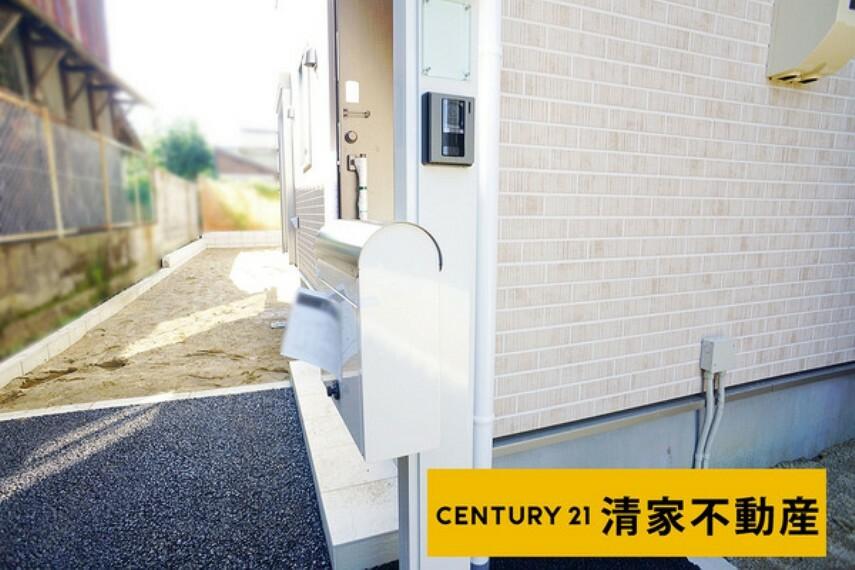 現況写真 4号棟:駐車スペース2台分あり!(2021年09月撮影)