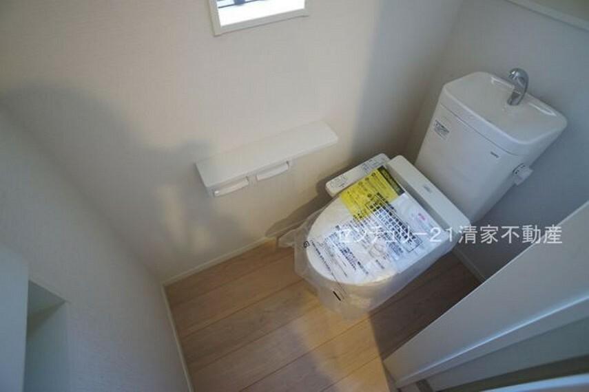 トイレ 4号棟:温水洗浄便座付きトイレ!(2021年09月撮影)