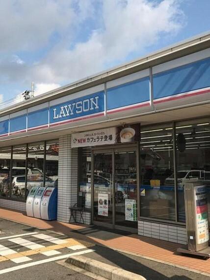 コンビニ ローソン東大阪旭町店