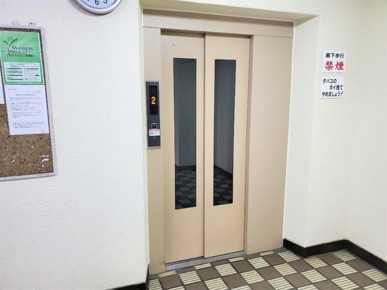 安心のエレベーターつき!