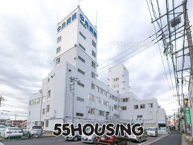 病院 慈弘会岩槻中央病院 徒歩10分。