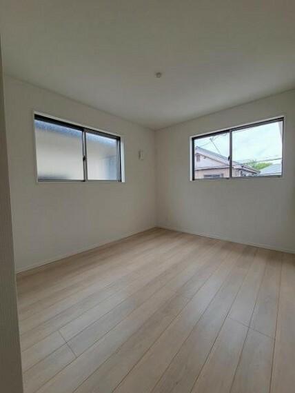 子供部屋 洋室5.7帖:2面採光で明るいお部屋はこどお部屋にもピッタリですね
