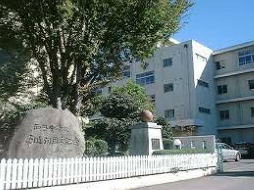 中学校 【中学校】西奈中学校まで1432m