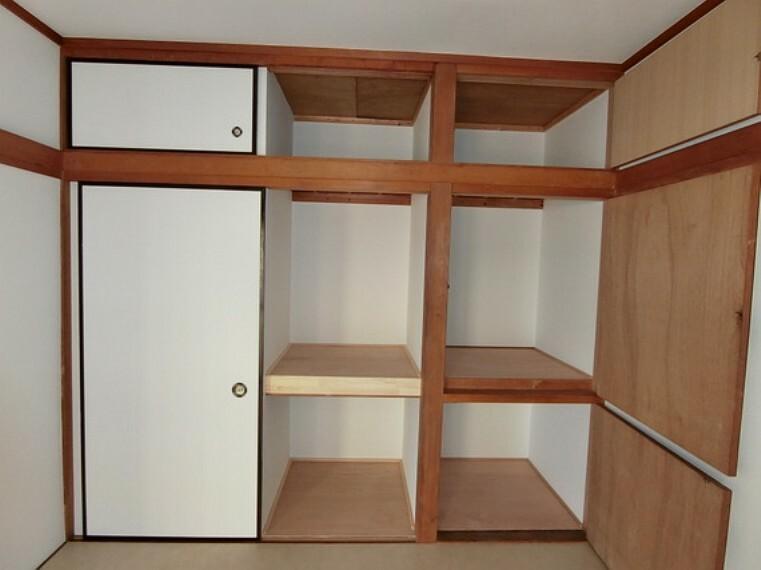 収納 押入れです。たっぷり収納できるのでお部屋を有効に使うことが出来ます。