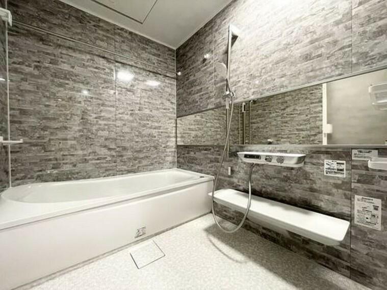 浴室 お風呂に求める「心地いい」という瞬間のために、機能性とデザイン性に重点を置きました。