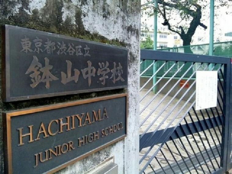 小学校 渋谷区立鉢山中学校 約550m