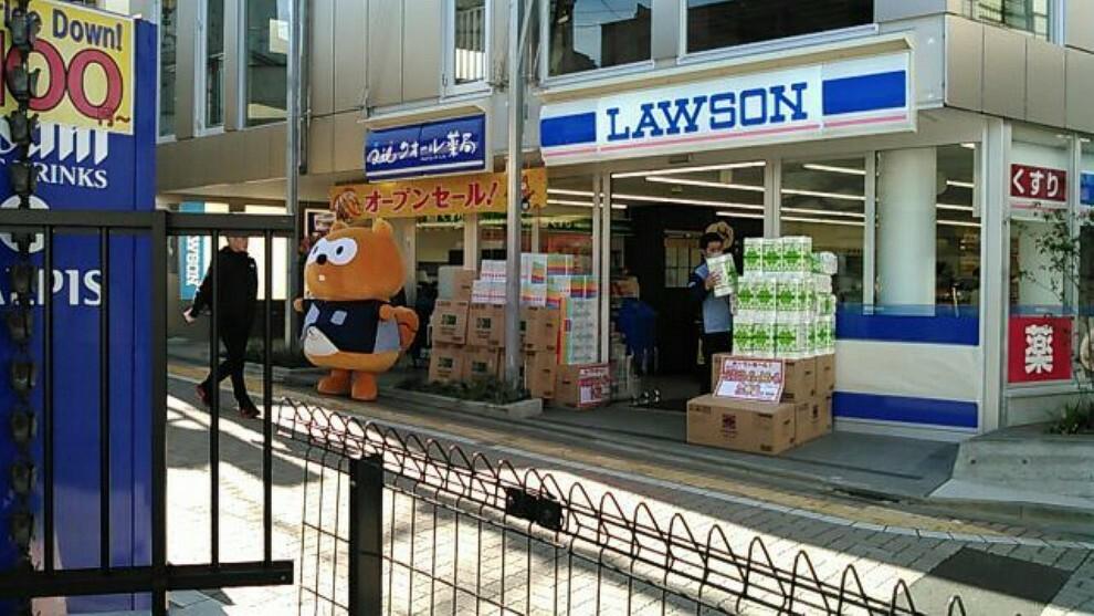 コンビニ 【コンビニエンスストア】ローソン 久我山駅南店まで172m
