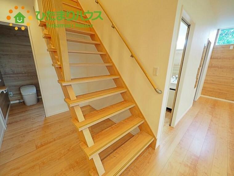 お洒落なウッド階段