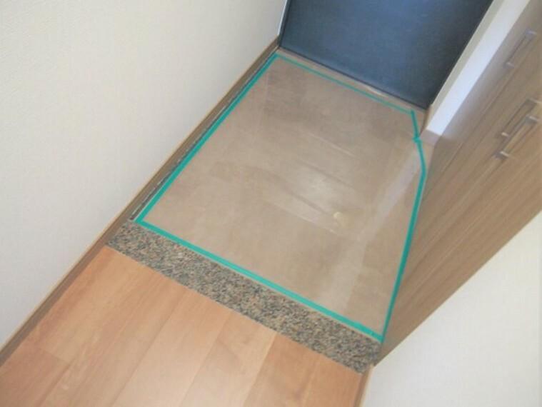 玄関 靴もしっかり収納可能。玄関はスッキリ整理整頓。