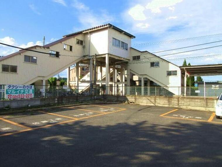飯坂線 泉駅