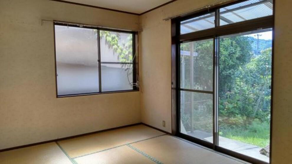 居間・リビング 【リフォーム前】現状和室ですが、南側で日当たりの良い場所をLDKにリフォーム予定です。