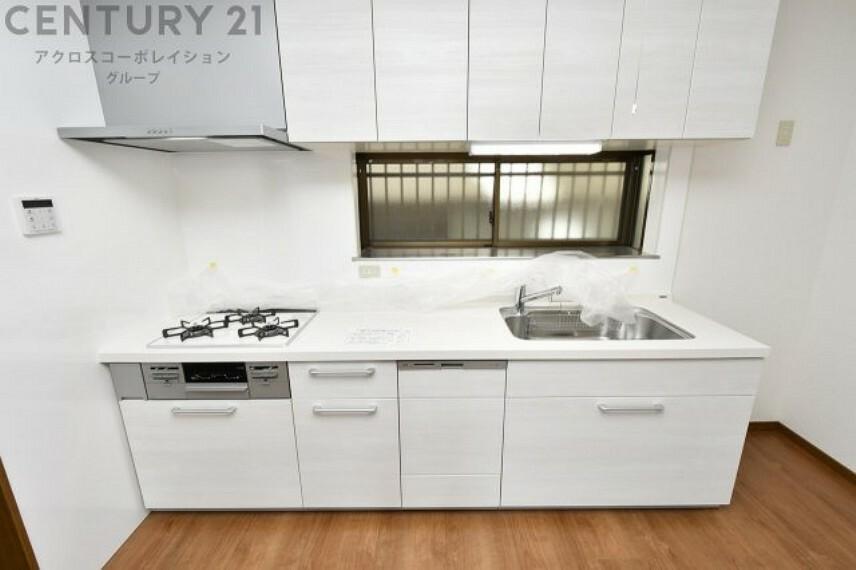 キッチン 2021年1月室内リフォーム済み 新調済みのシステムキッチン 食洗機付で洗い物作業も軽減できます