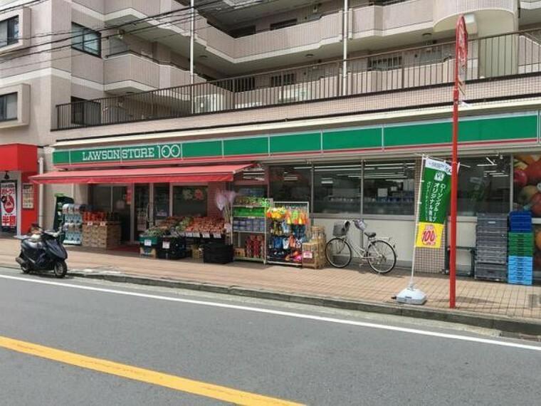 コンビニ ローソンストア100高田東店