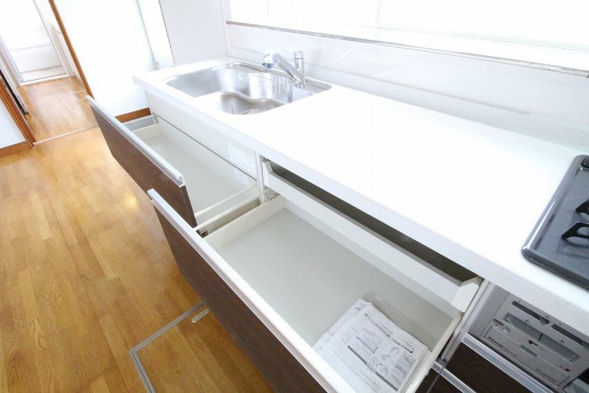キッチン 新品交換されたキッチン!