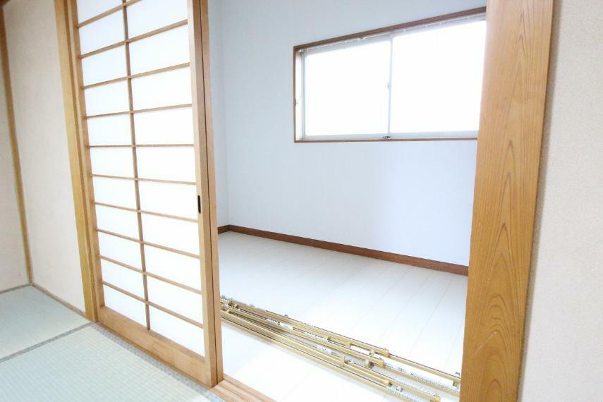 収納 2階和室についている納戸です!