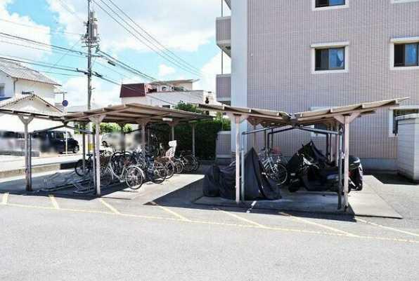 駐輪場 駐輪場スペース!