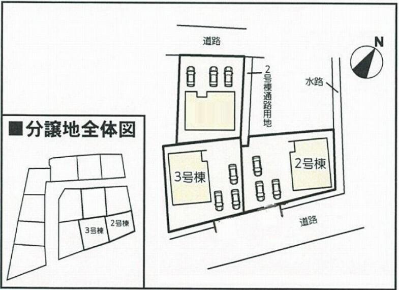 区画図 全体区画図:2号棟