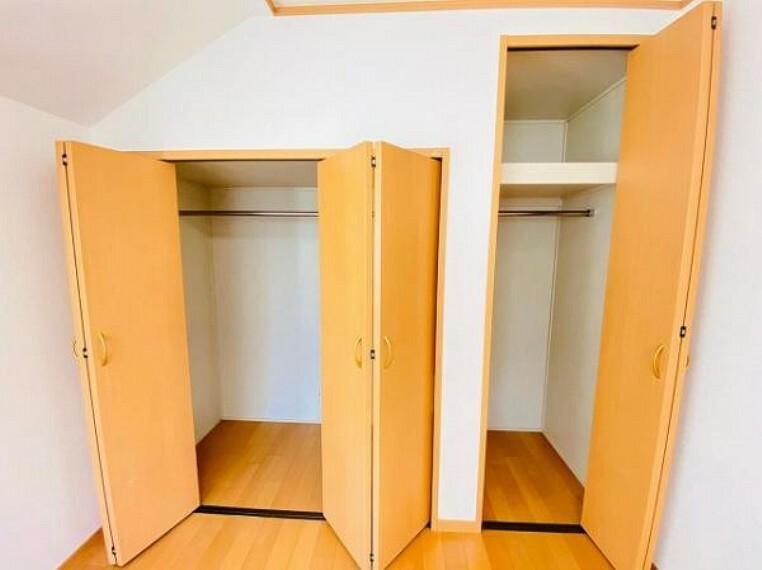 収納 各居室収納付き!荷物が多い方もスッキリ片付きます