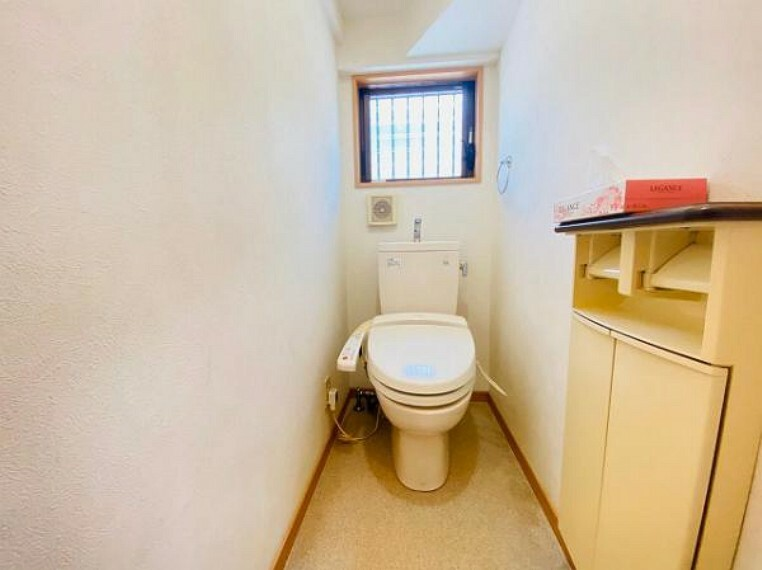 トイレ トイレ2ヶ所設置!朝の忙しい時間帯も混み合う心配がないですね