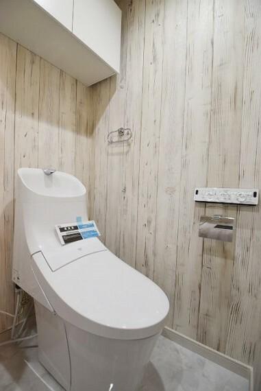 トイレ 上部収納・ウォシュレット付き