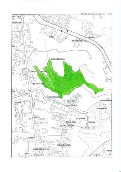 土地図面 位置図
