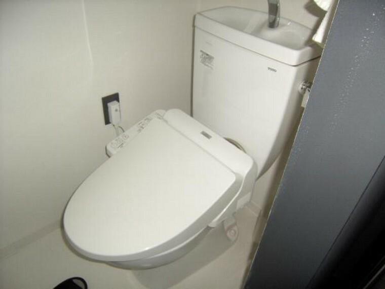 トイレ 保温、洗浄機能のついたトイレ。