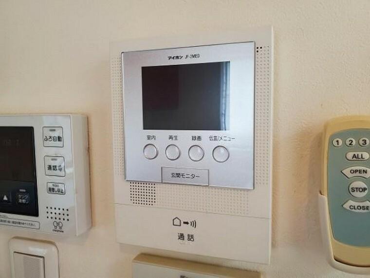 TVモニター付きインターフォン 玄関まで出なくても来客を確認できるモニター付きインターホン
