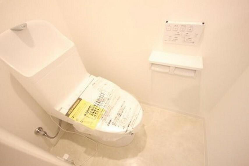 トイレ 機能や内装にこだわった、ナチュラルで優しい雰囲気のお手洗い。
