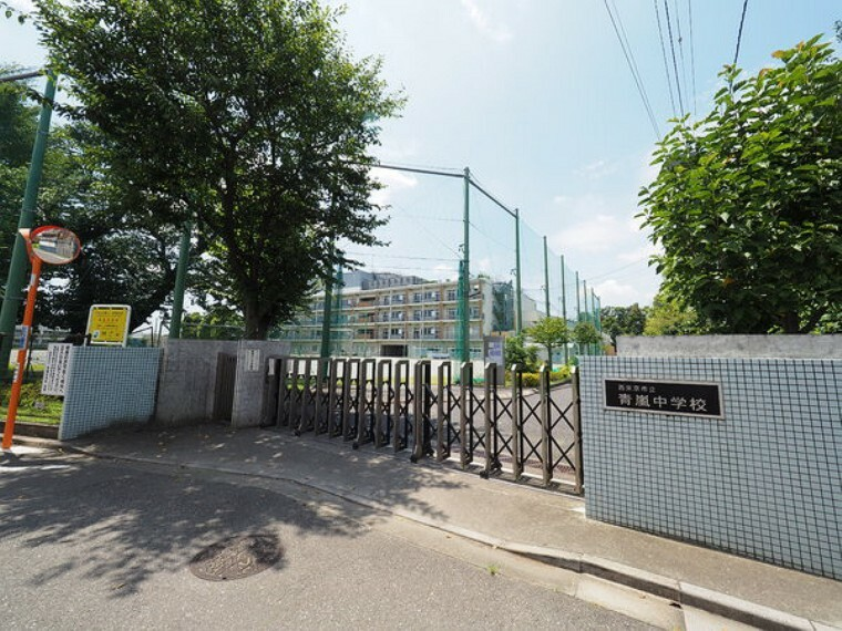 中学校 西東京市立青嵐中学校