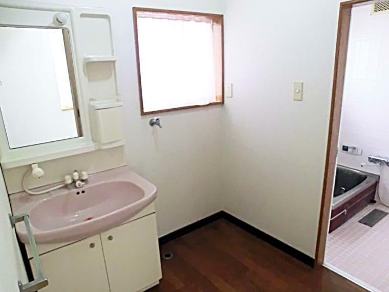 洗面化粧台 洗面室 室内(2021年8月)撮影