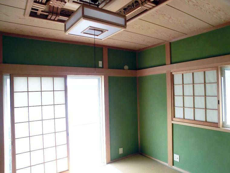 和室 1階和室6帖 室内(2021年8月)撮影